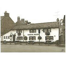 Horsforth Leeds Queen's Arms Photographic Print
