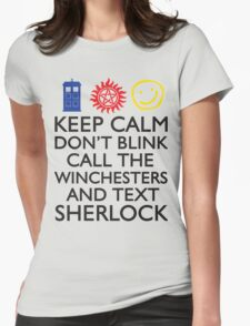 SUPERWHOLOCK SUPERNATURAL DOCTOR WHO SHERLOCK T-Shirt
