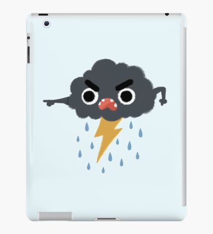 Grumpy Cloud iPad Case/Skin