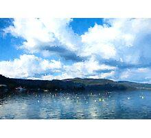 Lake Background Photographic Print
