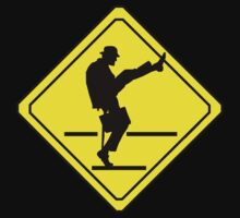 Silly Walks Crossing by zenjamin