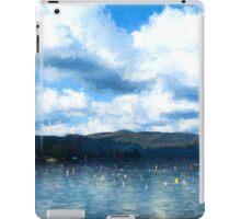 Lake Background iPad Case/Skin
