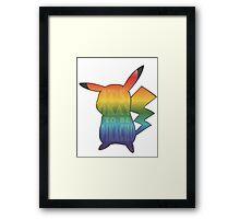 It's ok to be pikachu Framed Print