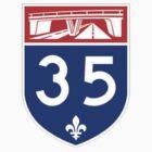 Autoroute 35 Québec by alxlajoie