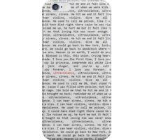 Ultraviolence Lyrics Phone Case. iPhone Case/Skin