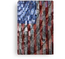 American Sacrifice Canvas Print