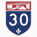 Autoroute 30 Québec by alxlajoie