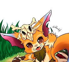 League Of Legends - Gnar by mariafumada