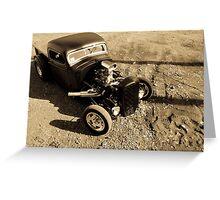 Rat Rod truck Greeting Card