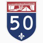 Autoroute 50 Québec by alxlajoie
