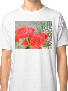 Bouquet with Red Roses 2 Classic T-Shirt