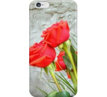 Bouquet with Red Roses 3 iPhone Case/Skin