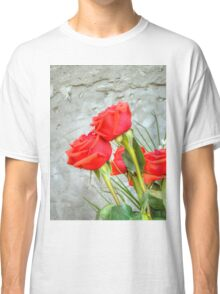 Bouquet with Red Roses 3 Classic T-Shirt