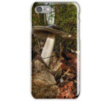 Wild Amanita Mushroom iPhone Case/Skin