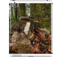 Wild Amanita Mushroom iPad Case/Skin