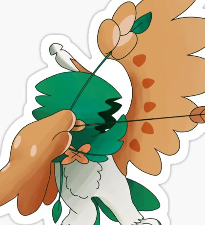 Decidueye Sticker