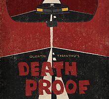 Death Proof Movie Poster by Jane Terekhov