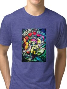 SpiderShy and Discord Tri-blend T-Shirt