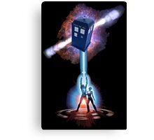 TARDIS TRON Canvas Print