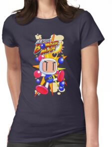 Saturn Bomberman Womens Fitted T-Shirt