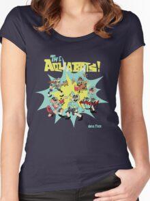 The Aquabats! Super Shirt! Women's Fitted Scoop T-Shirt