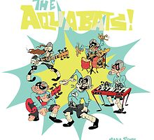 The Aquabats! Super Shirt! by Sara Peck