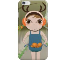 Deery Fairy and Oranges iPhone Case/Skin