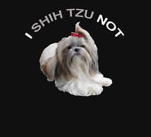 I Shih Tzu Not Womens Fitted T-Shirt