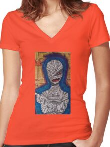 The Mummy Women's Fitted V-Neck T-Shirt