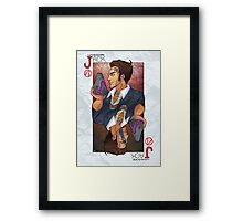 Handsome Jack card Framed Print