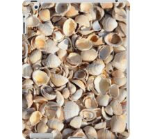 Background Of Beach Shells iPad Case/Skin