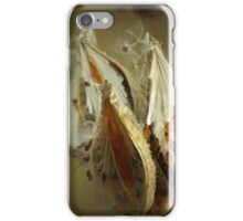 Milkweed pop iPhone Case/Skin