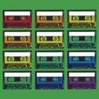 Cassette Rainbow by Rob Price