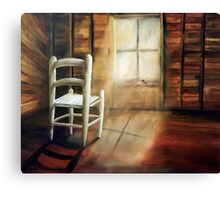 GUARDIAN OF THE LITTLE CHAIR Canvas Print