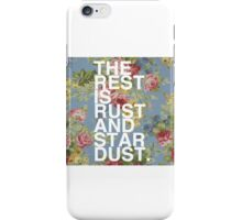 Rust and Stardust iPhone Case/Skin