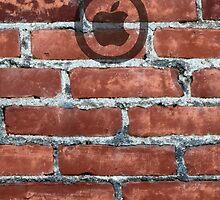 Hollywood Apple Brick by don thomas