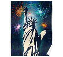 4th of July Fireworks 2 Poster