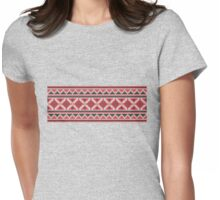 Christmas Sweater Womens Fitted T-Shirt