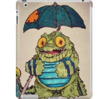 Crocodoodle iPad Case/Skin