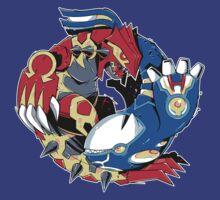 Primal Balance Omega Ruby & Alpha Sapphire T-shirt by Purrdemonium