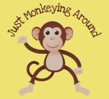 Just Monkeying Around Kids Clothes
