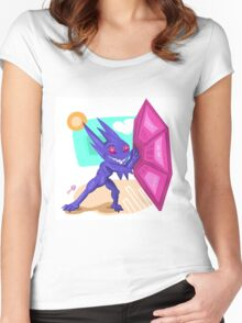 Mega Sableye Women's Fitted Scoop T-Shirt