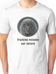 Helpless Little Great Grey Owl Unisex T-Shirt