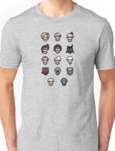 The Binding of Isaac characters + Unisex T-Shirt