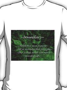 ~boundary~ (snippet) T-Shirt