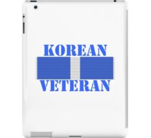 Korean Veteran iPad Case/Skin