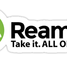 Reamify Takes It All Sticker