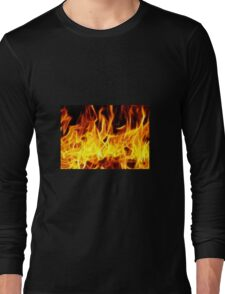 Fire Long Sleeve T-Shirt