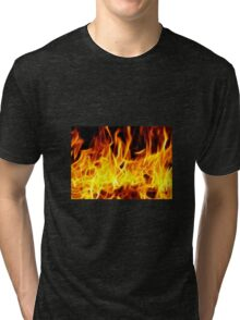 Fire Tri-blend T-Shirt
