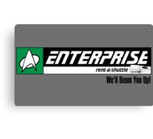Enterprise Rent-A-Shuttle Canvas Print